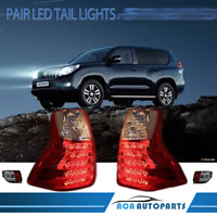 LH&RH Pair Tail Light Lamp For Toyota Landcruiser Prado 150 S2 2013~2017