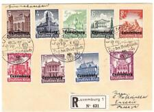 Luxembourg German Occupation-Semipostal-Sc# Nb1-9(complete set)-First