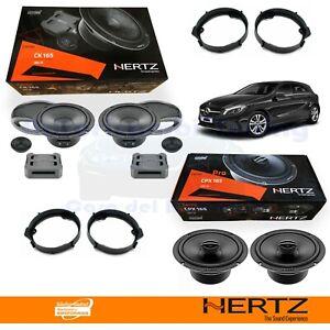 Hertz CK165 + CPX165 Casse Altoparlanti Ant + Post MERCEDES CLASSE A W176