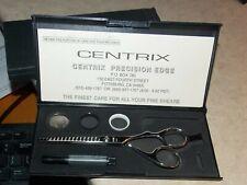 Centrix Cricket Hair Stylist Texturing Shears Precision Edge 1660 Hitachi Silver