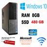 DELL OPTIPLEX 7010 DESKTOP PC  i7, 8GB RAM 480GB SSD WINDOWS 10 PRO