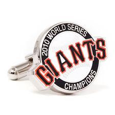 San Francisco GIANTS 2010 World Series Champions CUFFLINKS New in Box 50% off!