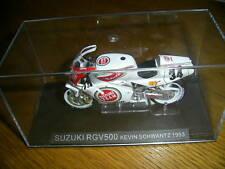 Ixo 1:24 Motorbike Kevin Schwantz Suzuki RGV500 1993 - Rare