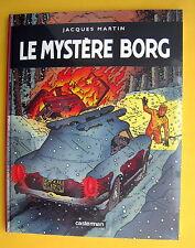 LEFRANC LE MYSTERE BORG CASTERMAN  J MARTIN GRAND FORMAT 42X33 CM NEUF