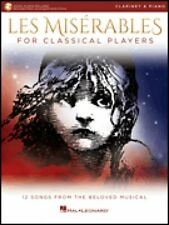 Les Miserables for Classical Players Clarinet and Piano Book & Audio 000284868