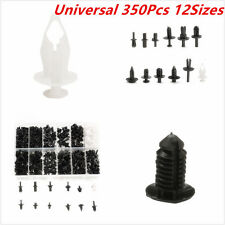 350X 12 Sizes Car Auto Push Pin Rivet Trim Clip Panel Body Interior Assortments