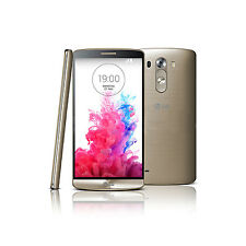 New GOLD LG G3 32GB Android Smart Phone 2G/3G/4G Unlocked 13.0MP Camera (D855)