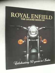 ROYAL ENFIELD - THE LEGEND RIDES ON - Gordon G. May ***SIGNED***