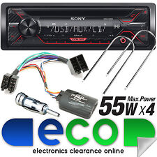 CITROEN Berlingo 96-07 Sony Cd MP3 USB AUX Coche Radio Estéreo KIT & volante