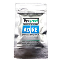 50 grams - Blue Grout Pigment for Mosaics Cement Dye by Dyegrout