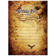 Harry Potter Invitation Cards Ebay