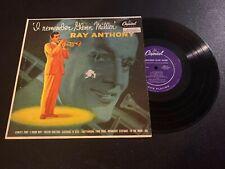 "Ray Anthony I remember Glenn Miller 10"" LP Capitol Purple Deep Groove VG+"