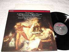 "Marriner/Auger/Murray ""Mendelssohn:Midsummer"" 1984 LP,Nice NM!, Philips, Digital"