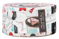 "Moda, Farm Charm, Jelly Roll, 2.5"" Fabric Quilti Strips, Gingiber, 48290JR, J11"