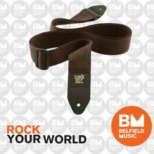 Ernie Ball 4052 Polypro Guitar Strap Super Long Forest Brown Adjustable
