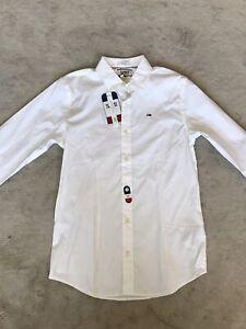 mens tommy hilfiger shirt small