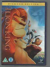 THE LION KING - Diamond Edition - Disney UK R2 DVD - CLASSIC NO 31 (on spine)