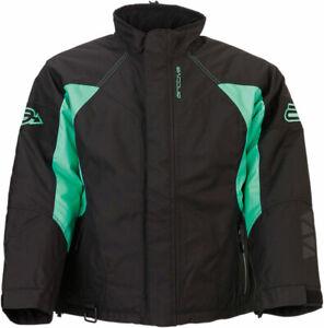 Arctiva Women's 2020 PIVOT 3 Insulated Waterproof Jacket (Black/Mint) Pick Size