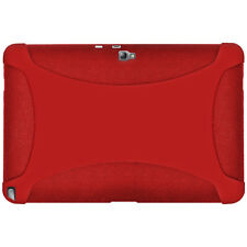 NEW AMZER SILICONE SKIN JELLY CASE FOR SAMSUNG GALAXY NOTE 10.1 GT-N8000 - RED