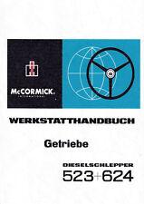 Werkstatthandbuch Getriebe Traktor IHC 523+624