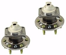2 New Rear Wheel Hub Bearing Assemblies With 4 Bolt Flange Chevrolet Uplander