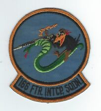 166th FIGHTER INTCP SQUADRON patch