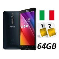 ASUS ZENFONE 2 ZE551ML DUAL SIM 64GB LTE BLACK GARANZIA 24 MESI ITALIA NO BRAND