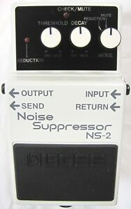 Used Boss NS-2 Noise Suppressor Guitar Effects Pedal