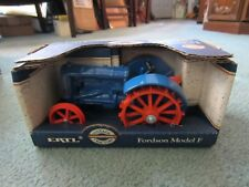 FORDSON MODEL F ERTL DIECAST TRACTOR 1/16 SCALE BLUE NEW IN BOX