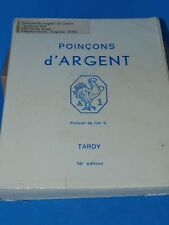 """Older Reference Book """"Poincons d'ARGENT"""", Tardy, 10 ed. Hallmarks on Silver"""
