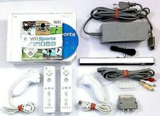 Nintendo Wii Konsole mit Wii Sports ► Komplettset für 2 Spieler #Tolles Pack #P3
