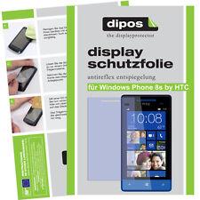 1x Windows Phone 8s by HTC lámina protectora mate protector de pantalla antireflex
