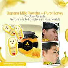 Banana Milk Powder Detox Banana Whiten Skin Tighten Pores Acne Spots Dark Spots.