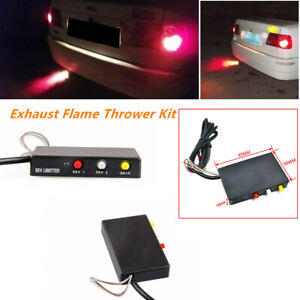 Car Auto Aircraft Vehicle Exhaust Flame Thrower Kit Fire Burner Afterburner Wire