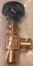 GENERANT FNV-4FAB Brass Forged Angle Needle Valve ¼ Female NPT X ¼ Female NPT