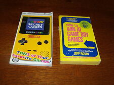 How to Win at Game Boy Games & Gameboy Secret Codes Game Boy Color Books
