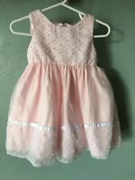 Cinderella Pink Baby Girls 18 Months Dress Spring Easter Wedding