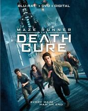 Maze Runner: The Death Cure (Blu-ray + DVD + Digital) NEW Free Shipping