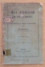 Der Fischteich von Hömberg. 1894. Mit originaler Verfasserwidmung!