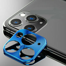 For iPhone 11 Pro Max Rear Camera Lens Case Full Cover Protector Ring Case Metal