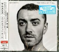 SAM SMITH-THE THRILL OF IT ALL-JAPAN CD Bonus Track F56