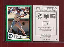 1994 Panini Baseball Sticker Seattle Mariners #118 Ken Griffey Jr.