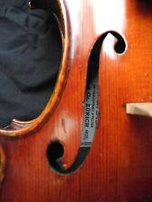 old violin label E. Tenucci HUG Zürich 1932