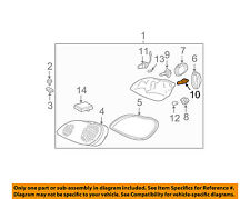 Mercedes MERCEDES-BENZ OEM 97-03 E320-Headlight Headlamp Bulb 910139000000