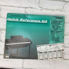 yamaha clavinova cvp-79 cvp-69 cvp-59 quick reference kit