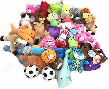 """Mixed Lot Stuffed Plush Toys 7-11"""", $1.15 ea, 200/case NWT"""