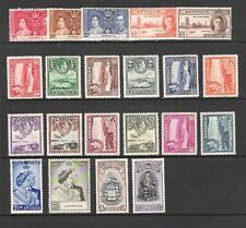 ANTIGUA 1938-51 SET TO £1 & EXTRAS (HM)