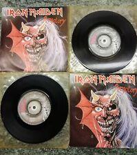 "Iron Maiden Purgatory 2 copies 7"" singles"