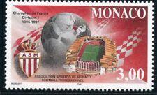 TIMBRE DE MONACO N°  2126 ** MONACO CHAMPION DU MONDE DE FOOTBALL 1996/1997