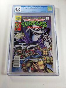 Teenage Mutant Ninja Turtles Adventures #1 CGC 9.0 (1989) TMNT NEWSSTAND Archie